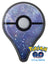 Abstract Blue Grungy Stars Pokémon GO Plus Vinyl Protective Decal Skin Kit