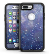 Abstract Blue Grungy Stars - iPhone 7 Plus/8 Plus OtterBox Case & Skin Kits