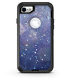 Abstract Blue Grungy Stars - iPhone 7 or 8 OtterBox Case & Skin Kits