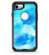 Abstract Blue Stroked Watercolour - iPhone 7 or 8 OtterBox Case & Skin Kits