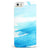 Abstract Blue Strokes iPhone 5/5s or SE INK-Fuzed Case