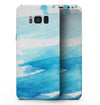 Abstract Blue Strokes - Samsung Galaxy S8 Full-Body Skin Kit