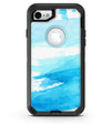 Abstract Blue Strokes - iPhone 7 or 8 OtterBox Case & Skin Kits