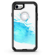 Abstract Blue Watercolor Seagull Swarm - iPhone 7 or 8 OtterBox Case & Skin Kits