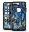Abstract Blue Wet Paint - iPhone 7 Plus/8 Plus OtterBox Case & Skin Kits