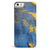 Abstract Blue and Gold Wet Paint iPhone 5/5s or SE INK-Fuzed Case