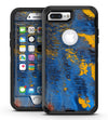 Abstract Blue and Gold Wet Paint - iPhone 7 Plus/8 Plus OtterBox Case & Skin Kits