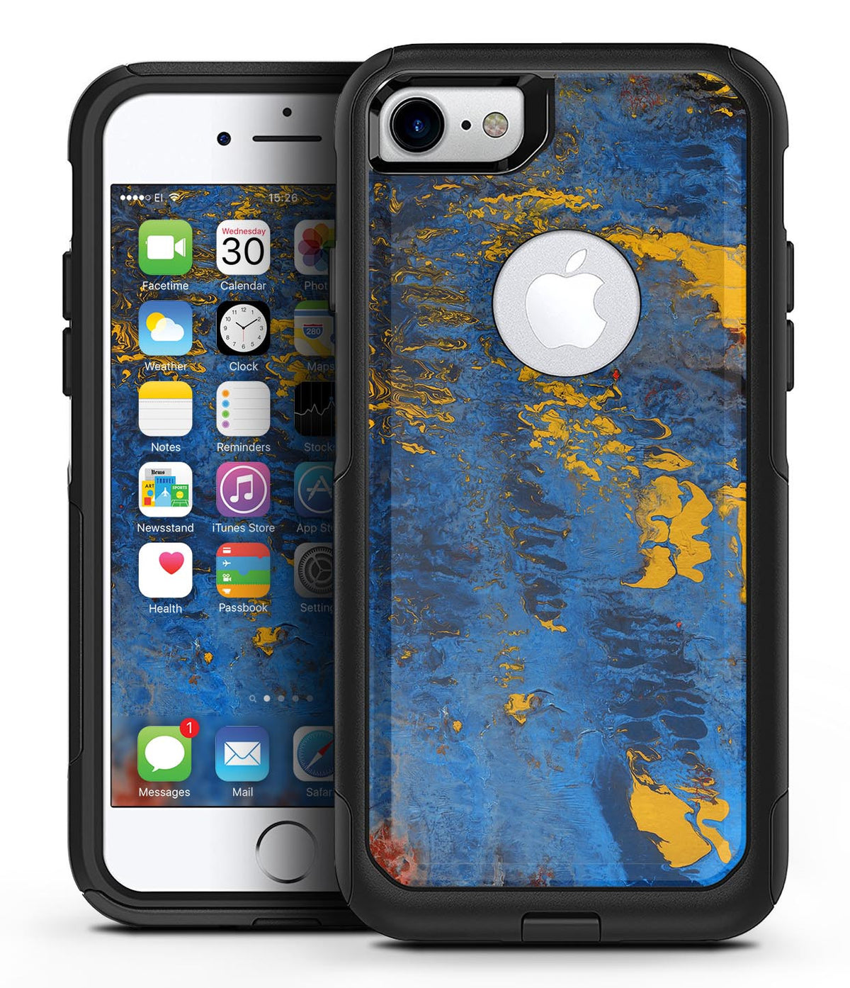 blue apple iphone 7 case