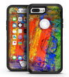 Abstract Bright Primary and Secondary Colored Oil Painting - iPhone 7 Plus/8 Plus OtterBox Case & Skin Kits