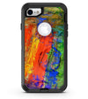 Abstract Bright Primary and Secondary Colored Oil Painting - iPhone 7 or 8 OtterBox Case & Skin Kits