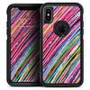 Abstract Color Strokes - Skin Kit for the iPhone OtterBox Cases
