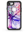Abstract Colorful WaterColor Vivid Tree V2 - iPhone 7 or 8 OtterBox Case & Skin Kits