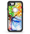 Abstract Colorful WaterColor Vivid Tree V3 - iPhone 7 or 8 OtterBox Case & Skin Kits