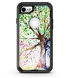 Abstract Colorful WaterColor Vivid Tree - iPhone 7 or 8 OtterBox Case & Skin Kits