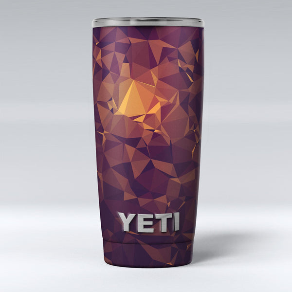 Abstract_Copper_Geometric_Shapes_-_Yeti_Rambler_Skin_Kit_-_20oz_-_V1.jpg