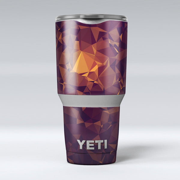 Abstract_Copper_Geometric_Shapes_-_Yeti_Rambler_Skin_Kit_-_30oz_-_V1.jpg