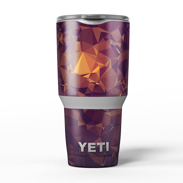 Abstract_Copper_Geometric_Shapes_-_Yeti_Rambler_Skin_Kit_-_30oz_-_V5.jpg
