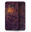 Abstract Copper Geometric Shapes - Samsung Galaxy S8 Full-Body Skin Kit