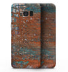 Abstract Cracked Burnt Paint - Samsung Galaxy S8 Full-Body Skin Kit