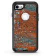 Abstract Cracked Burnt Paint - iPhone 7 or 8 OtterBox Case & Skin Kits