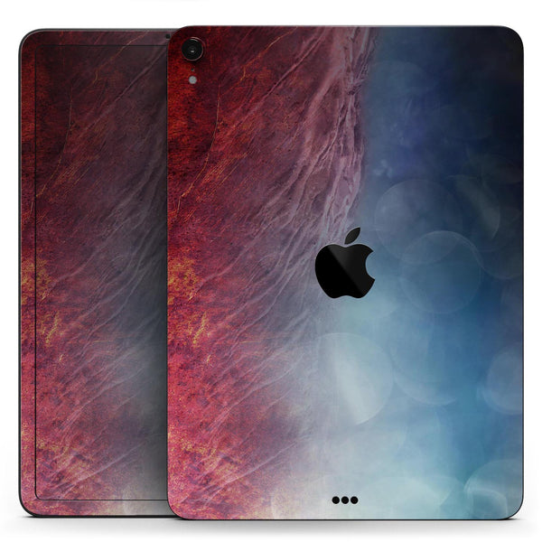 "Abstract Fire & Ice V10 - Full Body Skin Decal for the Apple iPad Pro 12.9"", 11"", 10.5"", 9.7"", Air or Mini (All Models Available)"