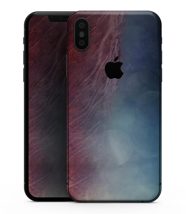 Abstract Fire & Ice V10 - iPhone XS MAX, XS/X, 8/8+, 7/7+, 5/5S/SE Skin-Kit (All iPhones Available)