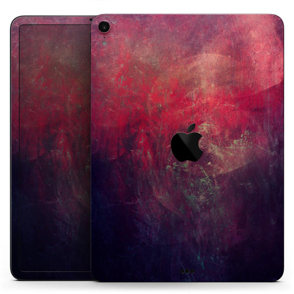 "Abstract Fire & Ice V11 - Full Body Skin Decal for the Apple iPad Pro 12.9"", 11"", 10.5"", 9.7"", Air or Mini (All Models Available)"