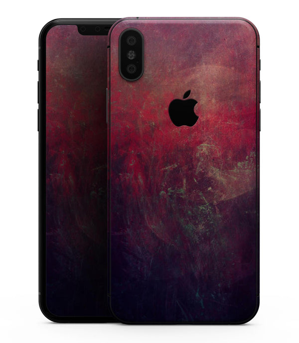 Abstract Fire & Ice V11 - iPhone XS MAX, XS/X, 8/8+, 7/7+, 5/5S/SE Skin-Kit (All iPhones Available)