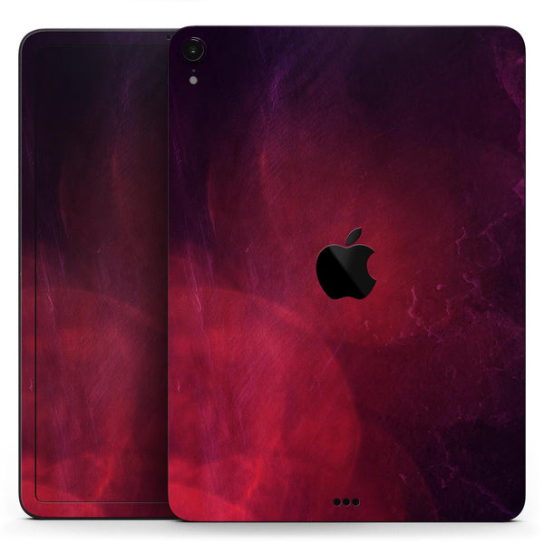 "Abstract Fire & Ice V12 - Full Body Skin Decal for the Apple iPad Pro 12.9"", 11"", 10.5"", 9.7"", Air or Mini (All Models Available)"