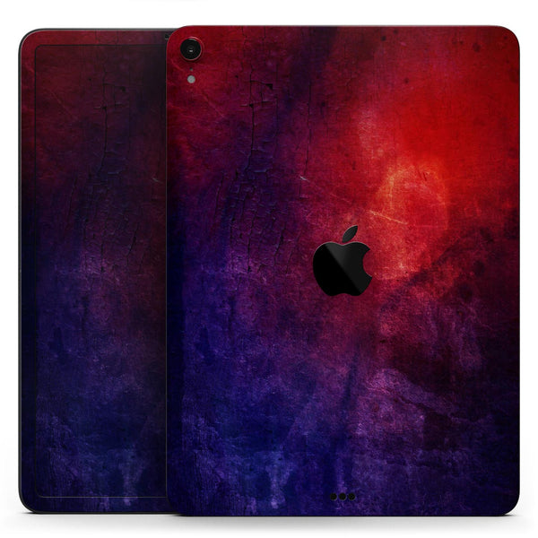 "Abstract Fire & Ice V13 - Full Body Skin Decal for the Apple iPad Pro 12.9"", 11"", 10.5"", 9.7"", Air or Mini (All Models Available)"