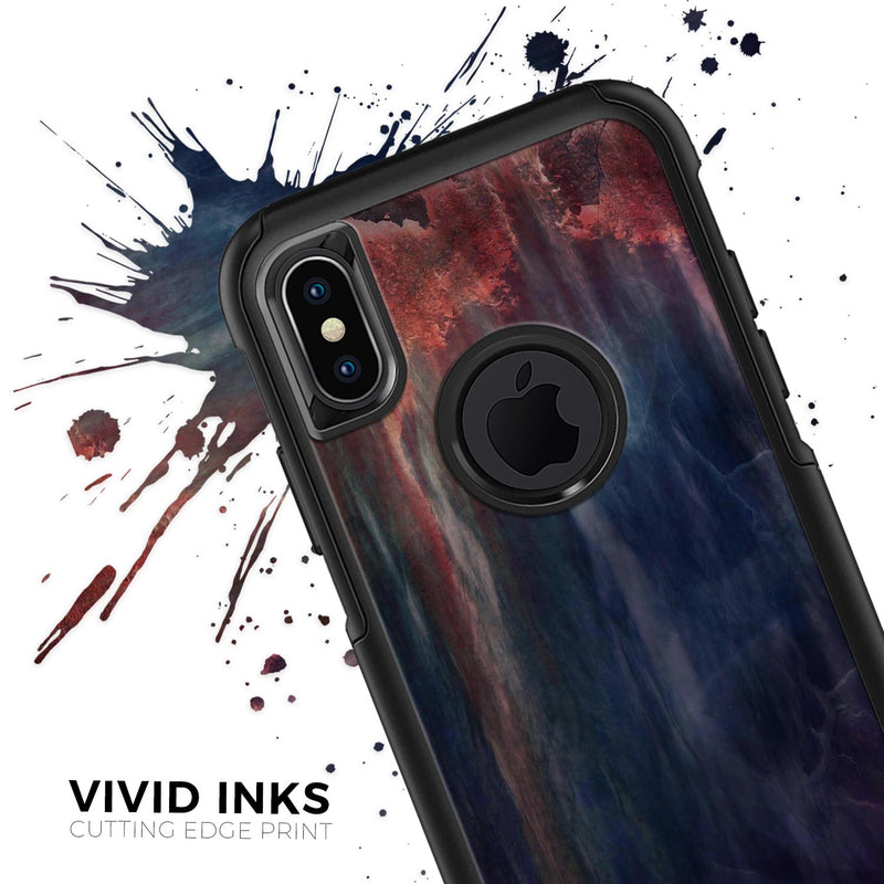 Abstract Fire & Ice V14 - Skin Kit for the iPhone OtterBox Cases