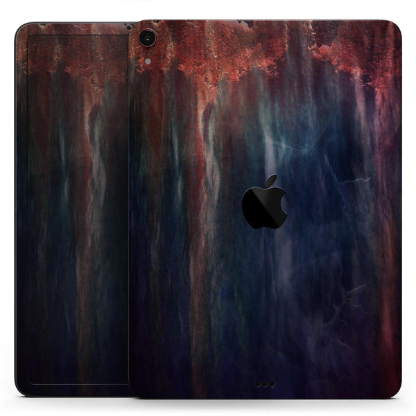 "Abstract Fire & Ice V14 - Full Body Skin Decal for the Apple iPad Pro 12.9"", 11"", 10.5"", 9.7"", Air or Mini (All Models Available)"