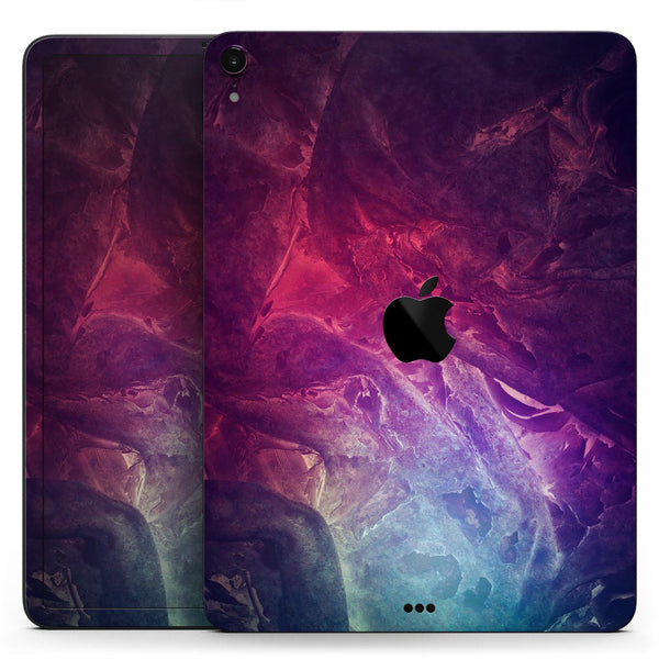 "Abstract Fire & Ice V15 - Full Body Skin Decal for the Apple iPad Pro 12.9"", 11"", 10.5"", 9.7"", Air or Mini (All Models Available)"