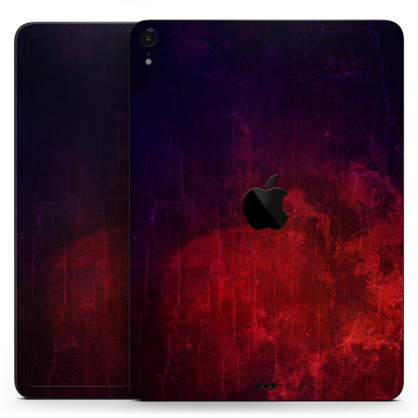"Abstract Fire & Ice V16 - Full Body Skin Decal for the Apple iPad Pro 12.9"", 11"", 10.5"", 9.7"", Air or Mini (All Models Available)"