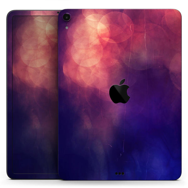 "Abstract Fire & Ice V17 - Full Body Skin Decal for the Apple iPad Pro 12.9"", 11"", 10.5"", 9.7"", Air or Mini (All Models Available)"