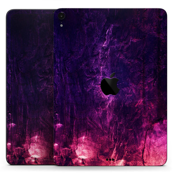 "Abstract Fire & Ice V1 - Full Body Skin Decal for the Apple iPad Pro 12.9"", 11"", 10.5"", 9.7"", Air or Mini (All Models Available)"