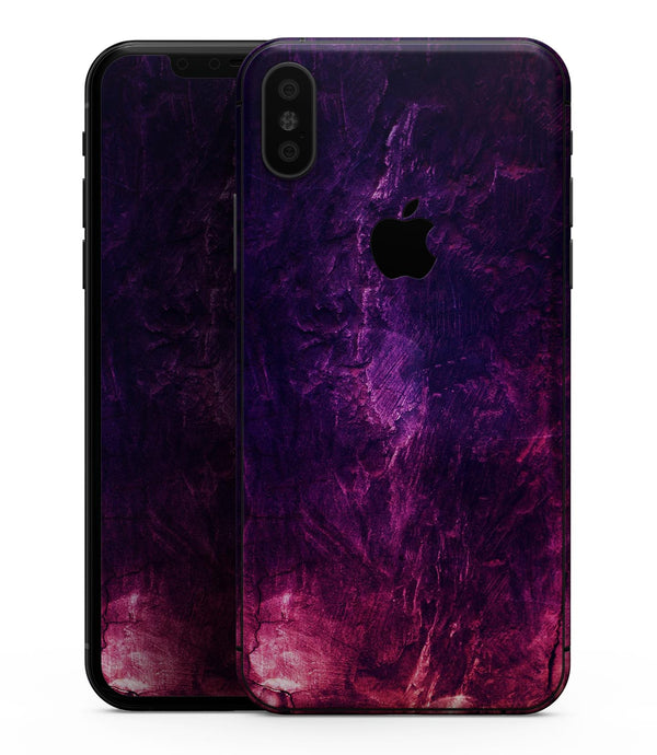 Abstract Fire & Ice V1 - iPhone XS MAX, XS/X, 8/8+, 7/7+, 5/5S/SE Skin-Kit (All iPhones Available)