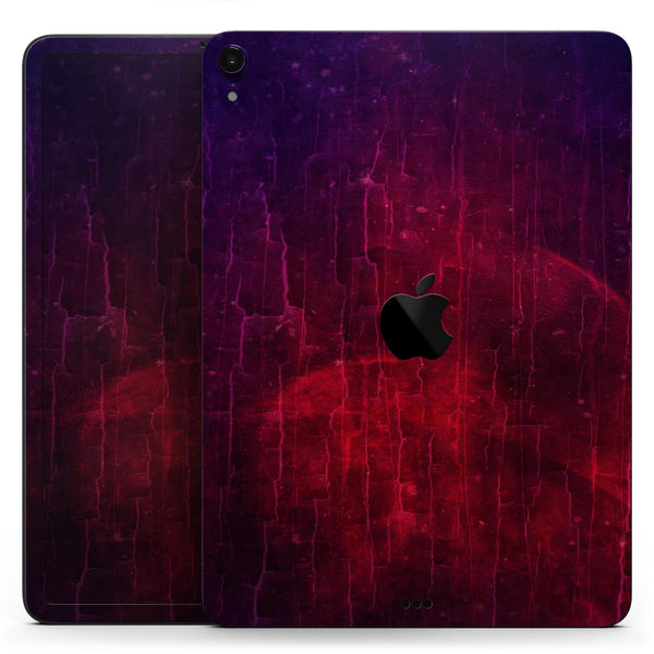 "Abstract Fire & Ice V2 - Full Body Skin Decal for the Apple iPad Pro 12.9"", 11"", 10.5"", 9.7"", Air or Mini (All Models Available)"