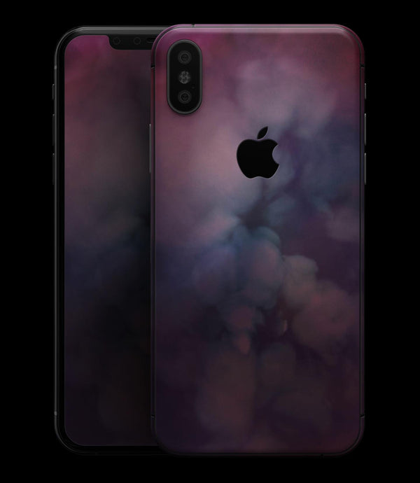 Abstract Fire & Ice V4 - iPhone XS MAX, XS/X, 8/8+, 7/7+, 5/5S/SE Skin-Kit (All iPhones Available)