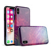 Abstract Fire & Ice V15 - iPhone X Swappable Hybrid Case