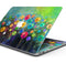 "Abstract Flower Meadow - Skin Decal Wrap Kit Compatible with the Apple MacBook Pro, Pro with Touch Bar or Air (11"", 12"", 13"", 15"" & 16"" - All Versions Available)"