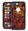 Abstract Geometric Lava Triangles - iPhone 7 Plus/8 Plus OtterBox Case & Skin Kits
