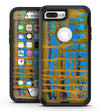 Abstract Gold and Teal Wet Paint - iPhone 7 Plus/8 Plus OtterBox Case & Skin Kits