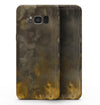 Abstract Golden Fire with Smoke - Samsung Galaxy S8 Full-Body Skin Kit