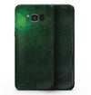 Abstract Green Geometric Shapes - Samsung Galaxy S8 Full-Body Skin Kit