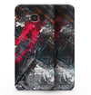 Abstract Grungy Oil Mess - Samsung Galaxy S8 Full-Body Skin Kit