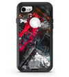 Abstract Grungy Oil Mess - iPhone 7 or 8 OtterBox Case & Skin Kits