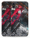 Abstract Grungy Oil Mess - iPhone X Skin-Kit