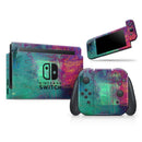 Abstract Oil Painting V3 - Skin Wrap Kit for Nintendo Switch, Switch Lite Console | 3DS XL | 2DS | Pro | Joy-Con Gaming Controller