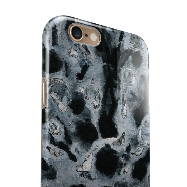 Abstract Paint v4 iPhone 6/6s or 6/6s Plus 2-Piece Hybrid INK-Fuzed Case
